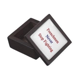 Frenchmen Never Stop Fighting Premium Jewelry Boxes