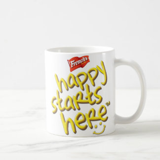 French's Happy Starts Here Mug