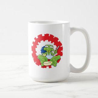 Frenchy Frog Classic White Coffee Mug