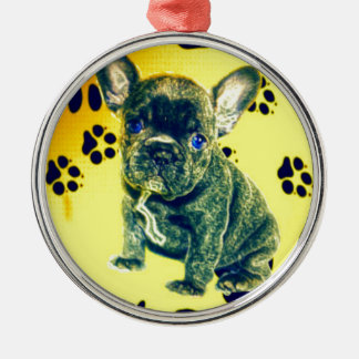 frenchy metal ornament