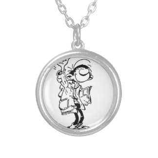Frenchy Silver Plated Necklace