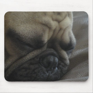 frenchy soñoliento mouse pad
