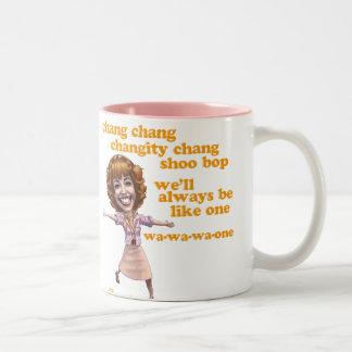 Frenchy Two-Tone Coffee Mug