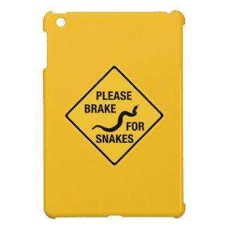 Frene por favor para las serpientes, señal de