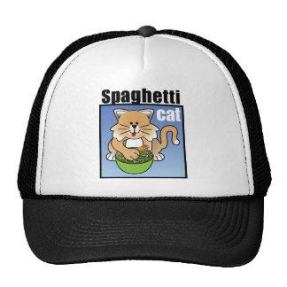 Frenesí del gato de los espaguetis gorra