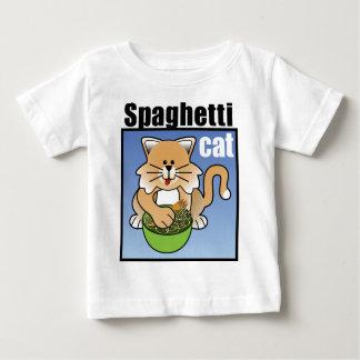 Frenesí del gato de los espaguetis playera