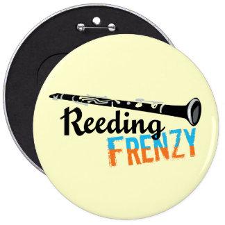 Frenesí que recubre con caña del Clarinet Pin Redondo 15 Cm