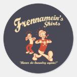 Frennamein's Shirts Classic Round Sticker