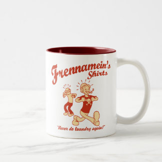 Frennamein's Shirts Two-Tone Coffee Mug