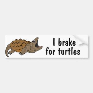 Freno AF I para el pegatina de la tortuga de rotur Pegatina Para Auto