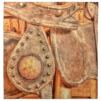 Freno antiguo servilletas