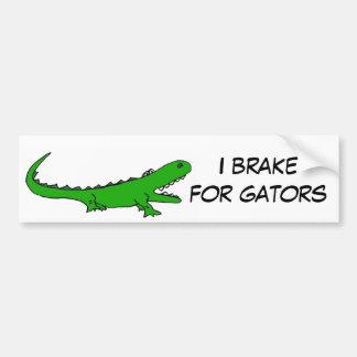 Freno AW para los cocodrilos Etiqueta De Parachoque