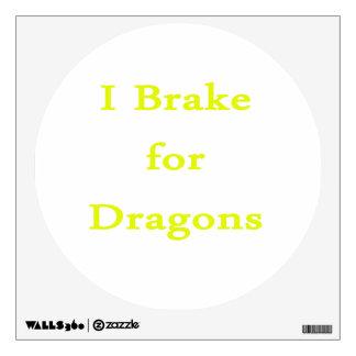 Freno para el amarillo de los dragones