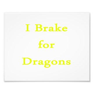 Freno para el amarillo de los dragones fotos