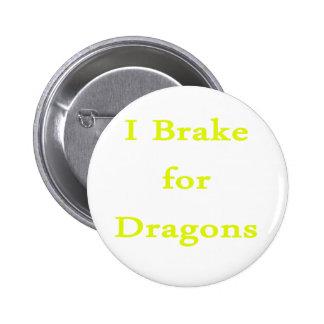 Freno para el amarillo de los dragones pins