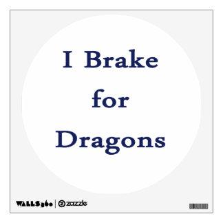 Freno para el azul de los dragones d