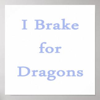 Freno para el cornflower de los dragones impresiones