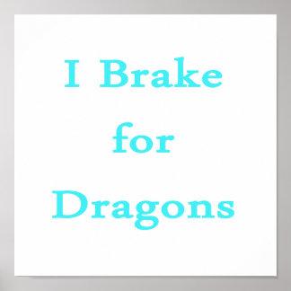 Freno para el trullo de los dragones poster