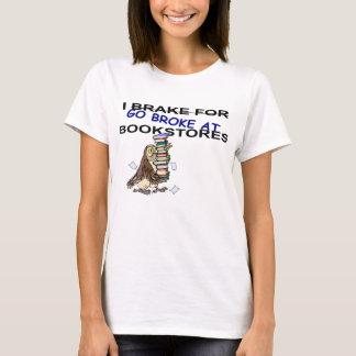 Freno para la camiseta del búho de las librerías