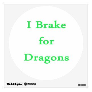Freno para la menta de los dragones