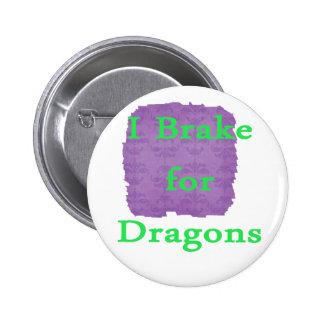 Freno para la menta de los dragones pins