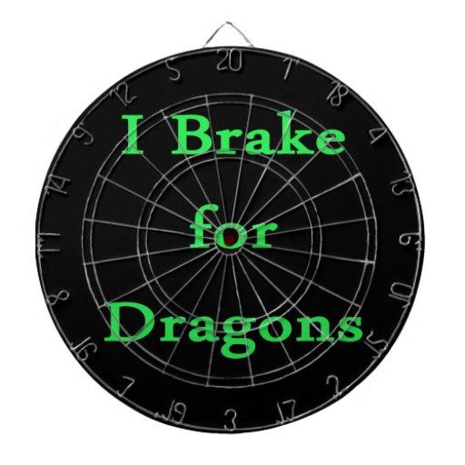 Freno para la menta de los dragones tablero dardos