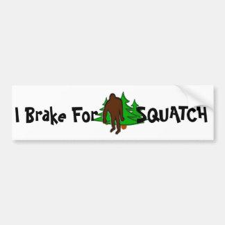 Freno para la pegatina para el parachoques de Squa Etiqueta De Parachoque