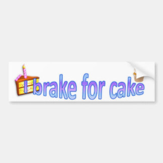 Freno para la torta pegatina para auto