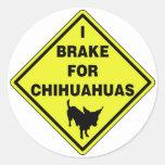 Freno para las chihuahuas pegatina