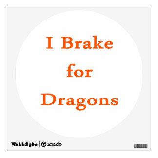 Freno para los dragones anaranjados