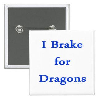 Freno para los dragones azules pin