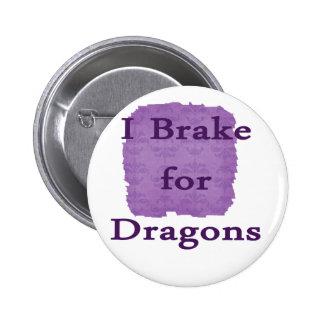 Freno para los dragones púrpuras pins