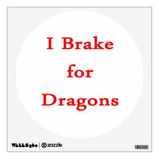 Freno para los dragones rojos