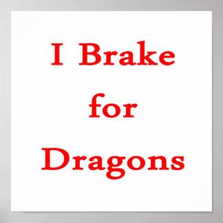 Freno para los dragones rojos poster