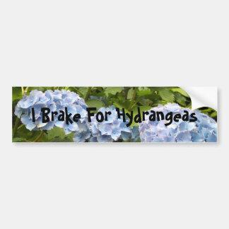 Freno para los Hydrangeas Pegatina De Parachoque