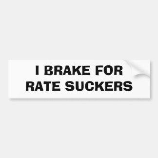 Freno para los lechones de la tarifa pegatina para auto