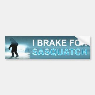 Freno para Sasquatch Pegatina Para Auto