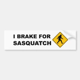 Freno para Squatch Pegatina Para Auto
