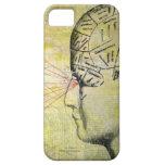 Frenología 1 ojo iPhone 5 Case-Mate carcasas