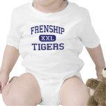 Frenship - tigres - High School secundaria - Wolff Traje De Bebé