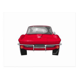 Frente 1964 de la pastinaca del Corvette Postales