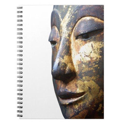 Frente a Buda Spiral Notebooks