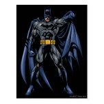 Frente a todo color de Batman Postales
