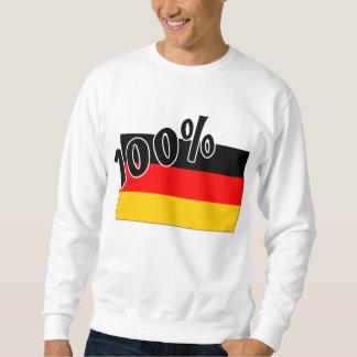 ¡Frente alemán! Parte posterior del alemán del 00% Sudadera
