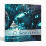 """Frente azul de la carpeta del """"navidad 2010"""" de la"""