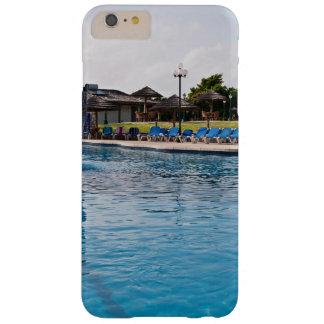 Frente de la piscina del día de fiesta funda de iPhone 6 plus barely there