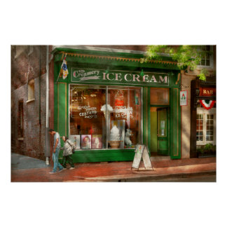 Frente de la tienda - Alexandría, VA - la lechería Impresiones