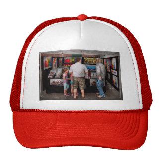 Frente de la tienda - artista - amor adolescente gorra