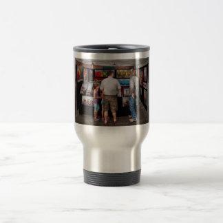 Frente de la tienda - artista - amor adolescente tazas de café