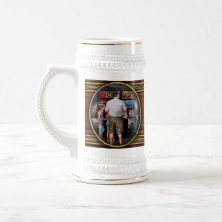 Frente de la tienda - artista - amor adolescente taza de café